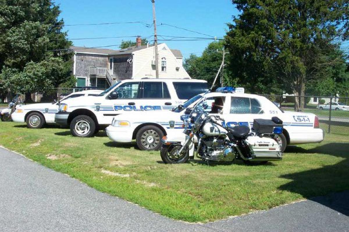 Retired Marshfield Police Fleet