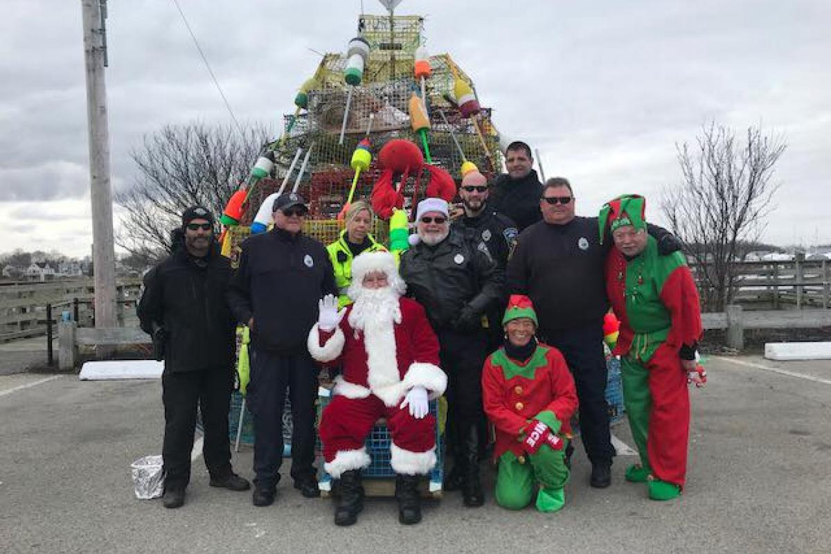 Santa at Town Pier 2017
